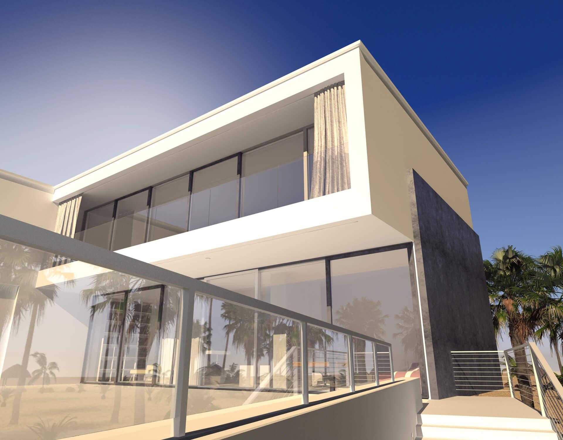 Luxury Home Exterior 03